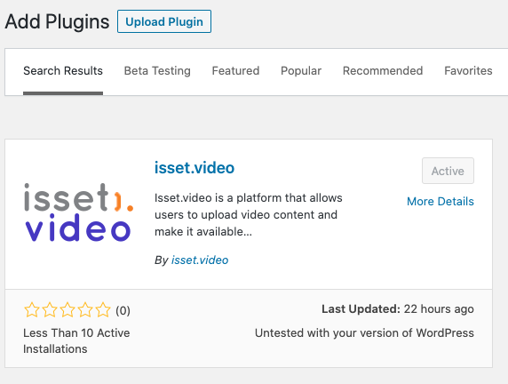 Install WordPress Plugin